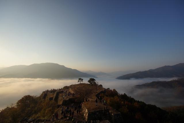 兵庫県の天空の城ラピュタと言われる竹田城跡!雲海の見頃とスポットをご紹介!