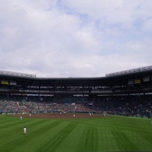 甲子園で日陰の席を確保したい!午前中、午後に分けて日陰の席をご紹介!